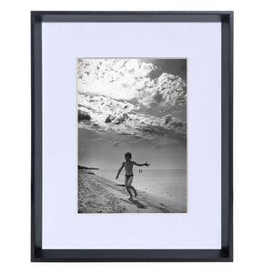 """5x7"""" REINE BLACK Wood Bevelled Frame"""