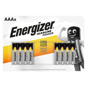 Energizer Alkaline Power AAA Batteries - 8 Pack