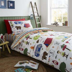 Sleepy Forest Duvet Cover