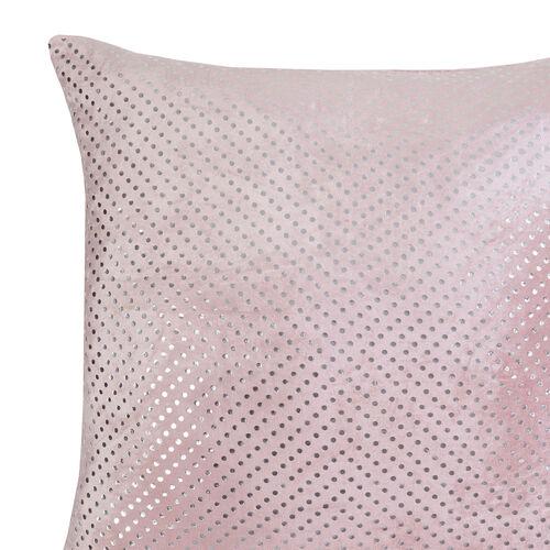 FOIL PRINT VELVET BLUSH 45x45 Cushion