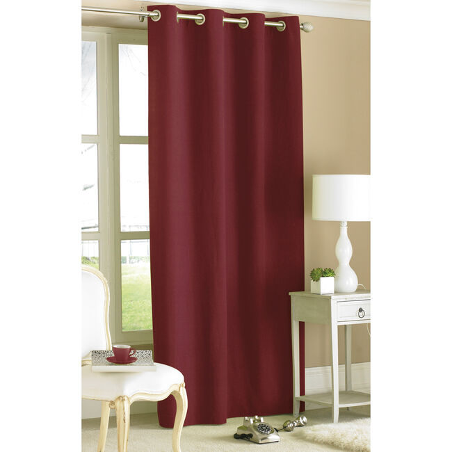 Style Ring Top Panel Curtain 145cm x 229cm