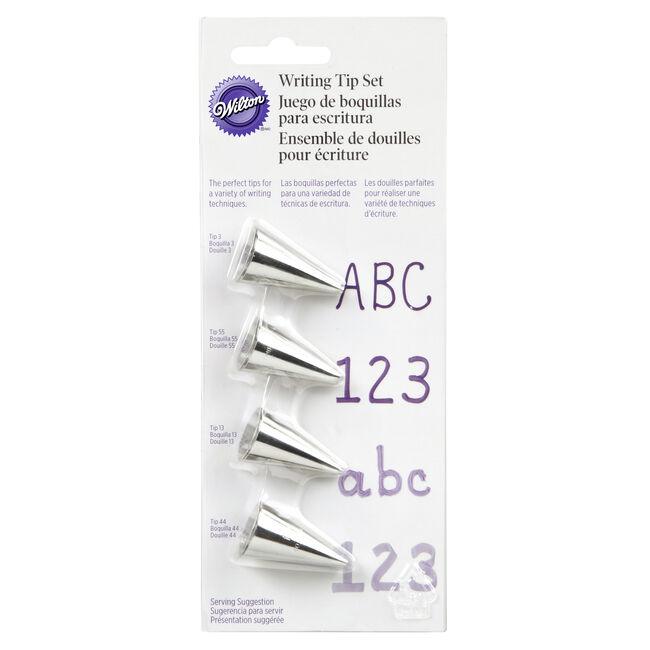 Wilton 4 Writing Tip Set