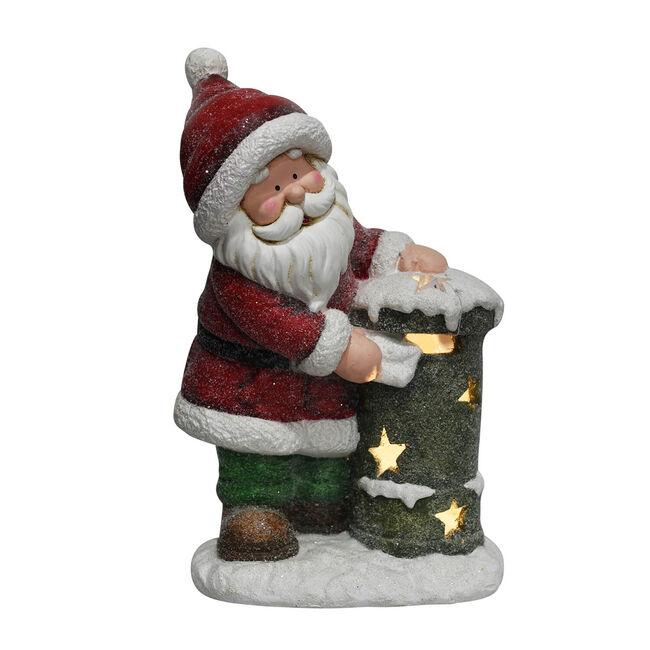 Santa Checking the Post