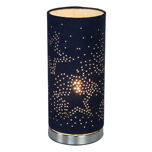 Navy Stars Silhouette Lamp
