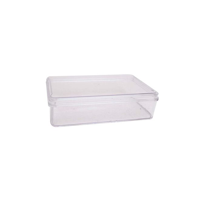 Fridge & Freezer bin With Lid  27.6x17.3x12.4cm