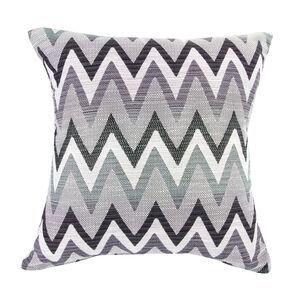 Mary Herringbone Purple Cushion 45cm x 45cm