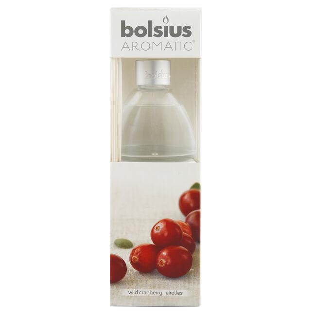 Bolsius Wild Cranberry 120ml Reed Diffuser