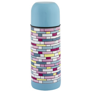 Jelly Childrens Tetris Blue Vacuum Flask 035L