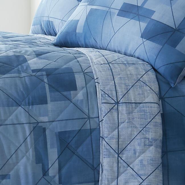 Joey Bedspread 200x220cm - Blue