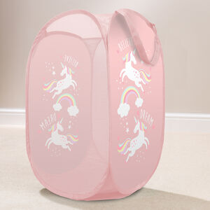 Unicorn Pop-Up Laundry Hamper