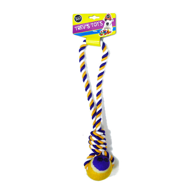 Trev's Toys Ball & Rope Knot