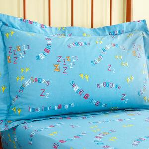 Sleepy Dinos Oxford Pillowcase Pair - Multi
