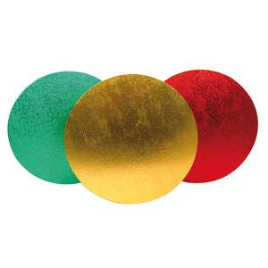 Festive Colours Round Cake Board