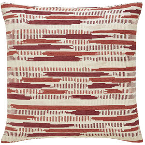Incandescent Cushion 58x58cm - Rust