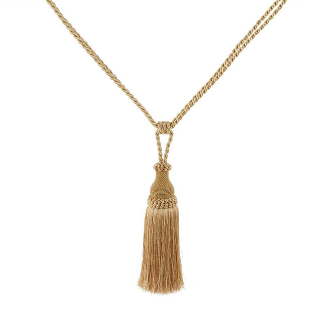 Elegance Medium Rope Gold Tieback