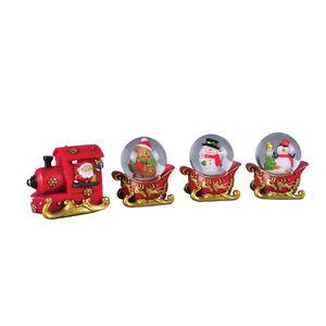 Snow Globe Train Set