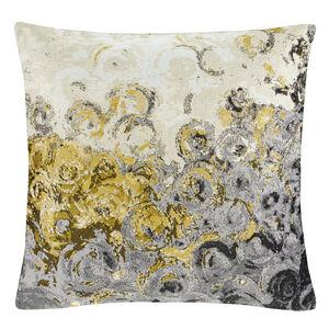 SHADOW BLOOM OCHRE 45x45 Cushion