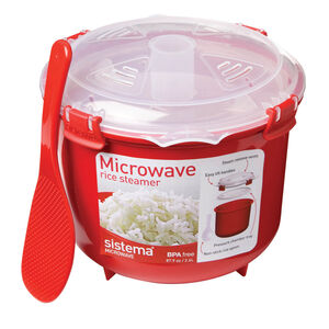 Klip It Microwave Rice Steamer 2.6L