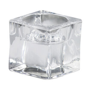 Bolsius Glass Square Tealights Holder