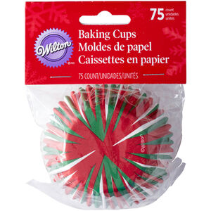 Wilton Christmas Cupcake Cases 150pk
