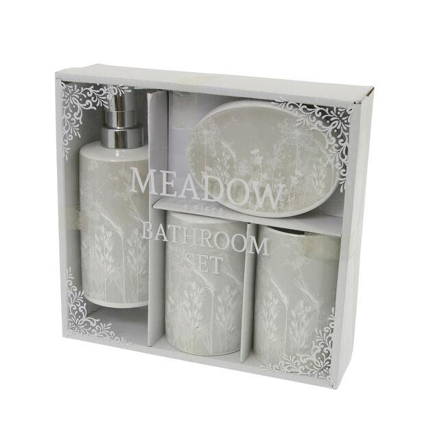 Meadow 4 Piece Bathroom Set