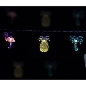 LED Solar Tropical String Lights 20 Pack