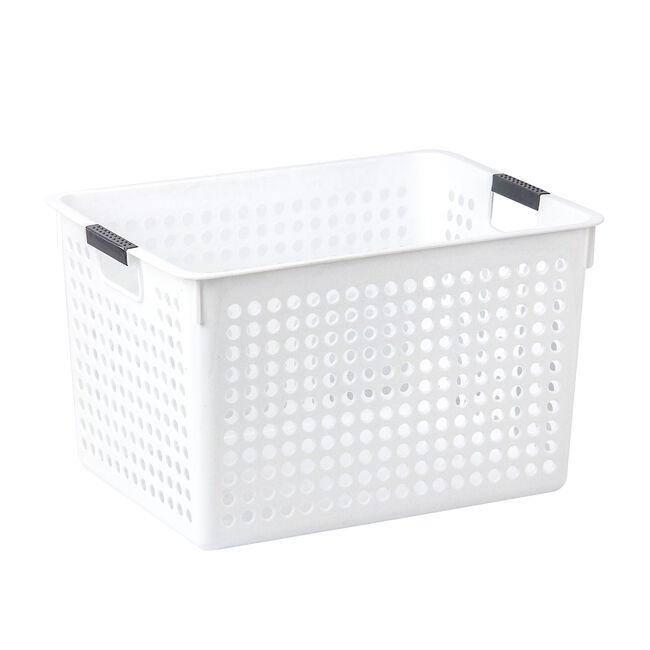 Connect Storage Basket White 16L
