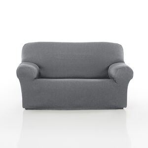 Easystretch 2 Seater Sofa Cover Light Grey