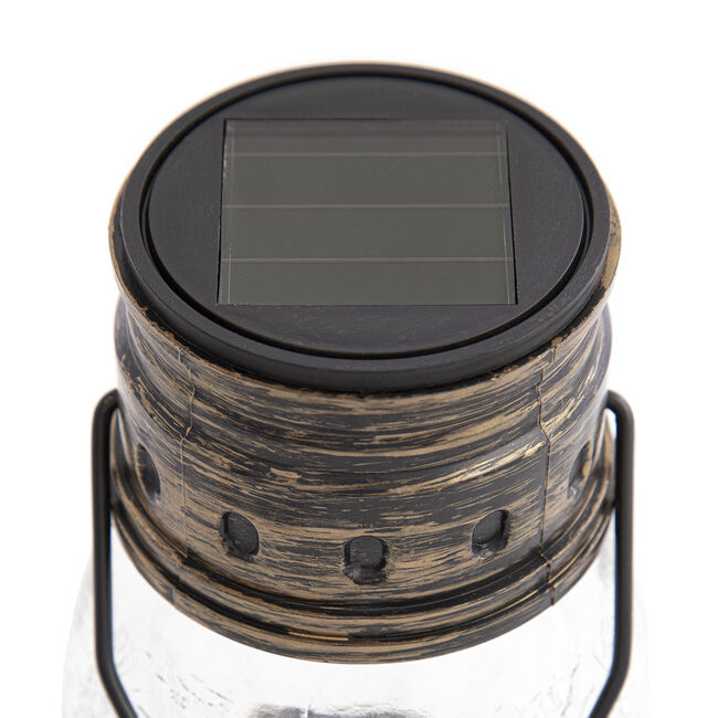 Crackle Lantern Solar Light