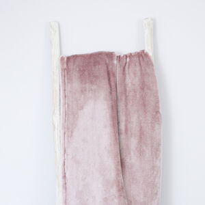 Ruane Plush Velvet Throw 150x200cm - Mauve