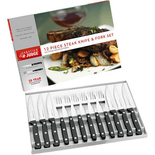 Judge Sabatier Steak Set 12 Piece