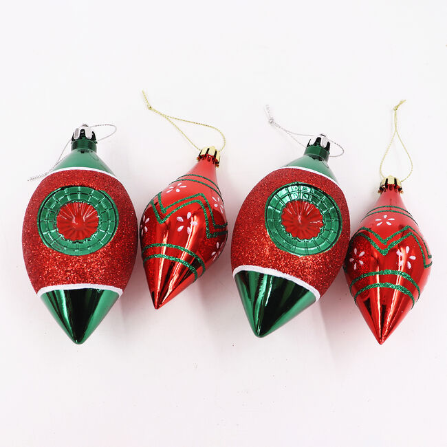 Luxury Ornaments Tree Decorations - 4 Pack