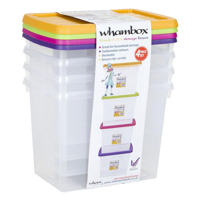 Whambox 4 Container Set