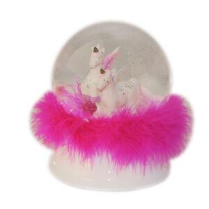Light Up Dancing Unicorns Snow Globe