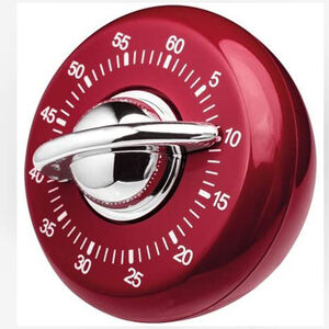 Kitchen Timer Classic Red