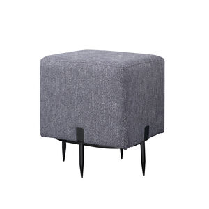 Bowe Square Pouffe Stool Blue