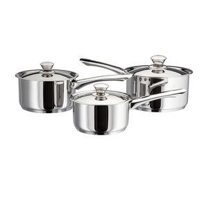 Judge Platina 3 Piece Cookware Set