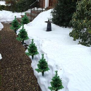 Christmas Tree Path Lights 6 Pack