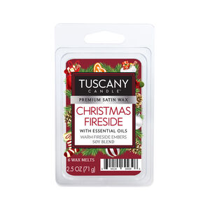 Tuscany Christmas fireside Melt Cube