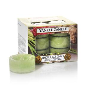 Yankee Lemongrass And Ginger Tea Lights
