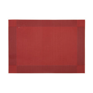 Netted Oxford Placemat - Burgandy
