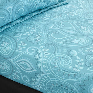 AVRIL AQUA Single Fitted Sheet