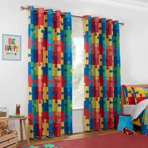 JIGSAW MULTI 66x54 Curtain