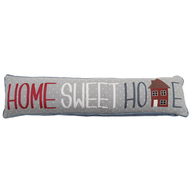 Home Sweet Home Spots Draught Excluder 22x90cm