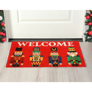 Nutcracker Welcome Door Mat 40 x 70cm