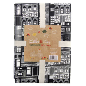 City Stripe 140x180cm Tablecloth