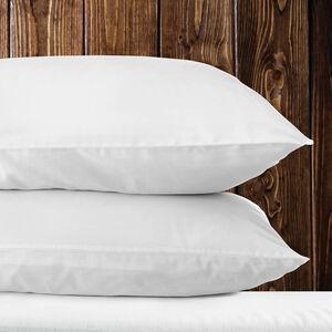 500TC Cotton King Size Pillowcase Pair - White