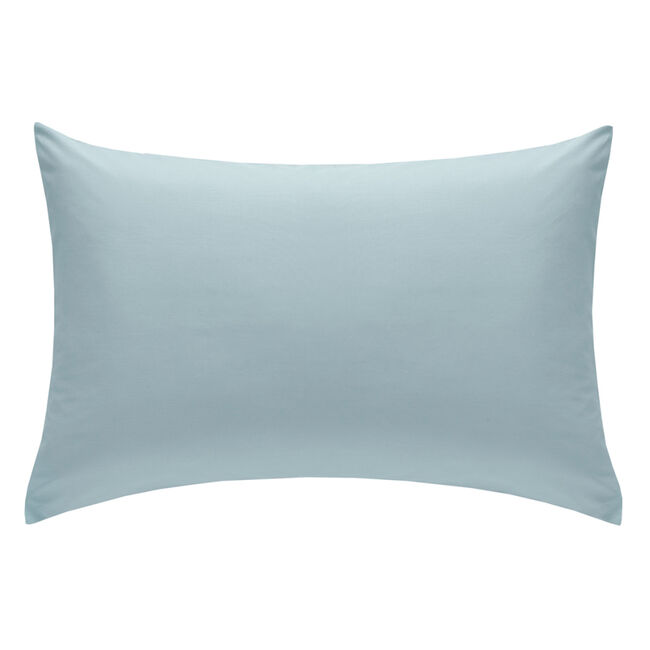 So Soft Percale Duck Egg Housewife Pillowcases