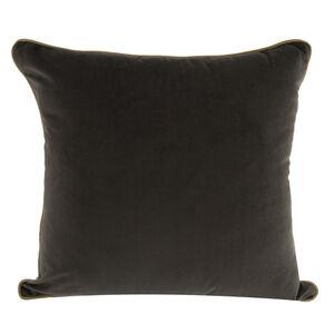 Naomi Chocolate Cushion 45cm x 45cm
