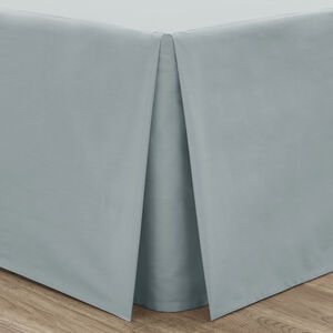 SINGLE PLATFORM VALANCE Luxury Percale Duck Egg